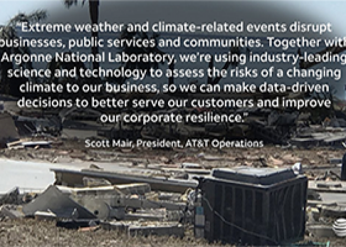 AT&T Engages in Climate Change Resiliency Project